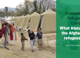 European Refugee Crisis? What About the Afghan refugees?