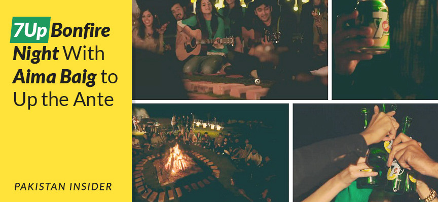 7Up Bonfire Night With Aima Baig to Up the Ante