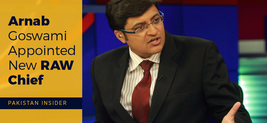 Arnab Goswami Appointed New RAW Chief