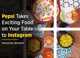 Pepsi Takes Exciting Food on Your Table to Instagram