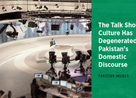 The Talk Show Culture Has Degenerated Pakistan's Domestic Discourse