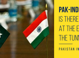 Pak-India Ties: Is There A Light At The End Of The Tunnel?