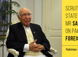 Scrutiny Of Statement By Mr Sartaj Aziz On Pakistan's Foreign Policy