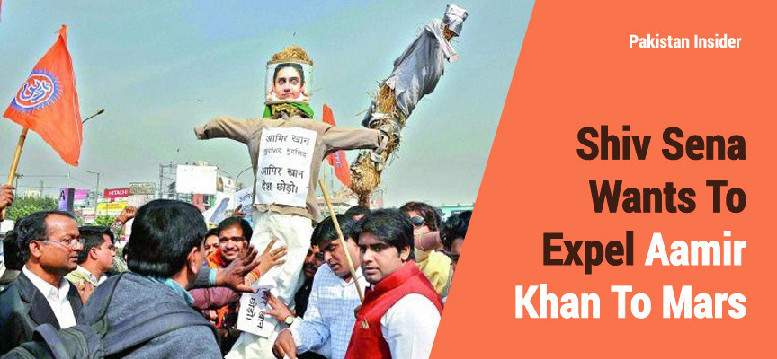 Shiv Sena Wants To Expel Aamir Khan To Mars