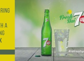 7up Entering the New Year With a Surprising New Look