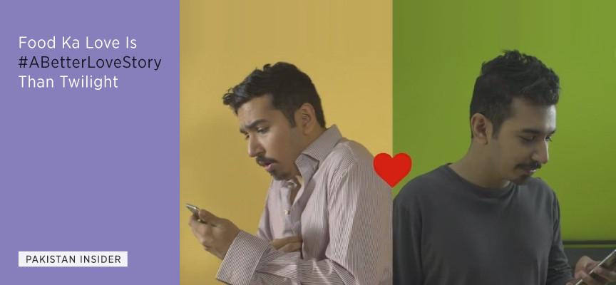 Food ka love is #ABetterLoveStory than Twilight