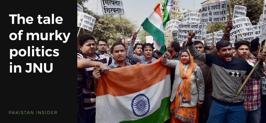 The tale of murky politics in JNU