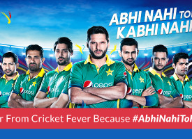 Let's suffer from cricket fever because #AbhiNahiTohKabhiNahi