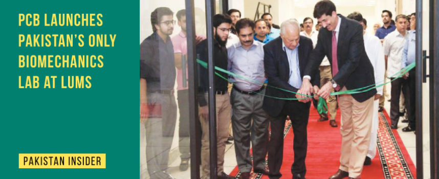 PCB launches Pakistan's only Biomechanics Lab at LUMS