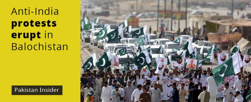 Protestors stage anti-India rally in Balochistan