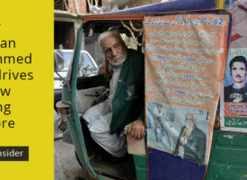 Former Olympian Muhammed Ashiq drives rickshaw for living in Lahore