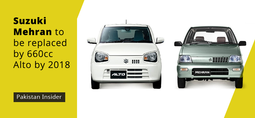 281e2f4a5f Suzuki Mehran to be replaced by 660cc Alto by 2018