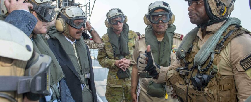Pakistan participated in US-led International Maritime Exercise 2019