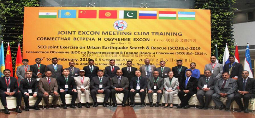 Pakistan's Participation in SCO Joint Exercise on Urban Search & Rescue in India (2019)